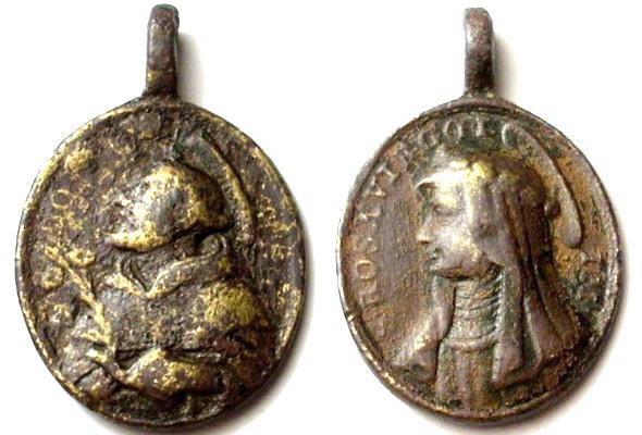 Recopilación medallas de Santo Domingo de Guzmán. Notas iconográficas. Sdi16_10