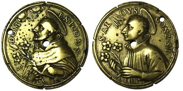 Recopilación medallas de Santo Domingo de Guzmán. Notas iconográficas. Sdi17_10