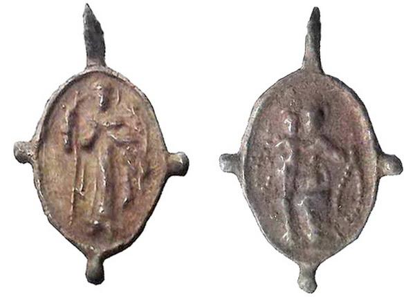 Recopilación medallas de Santo Domingo de Guzmán. Notas iconográficas. Seyali11