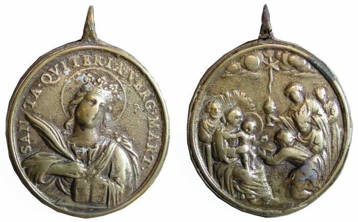 ICONOGRAFIA de la NATIVIDAD en las medallas devocionales Tesaym20