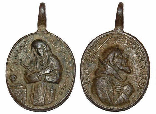 Recopilacion medallas  San Francisco de Asis Traian10