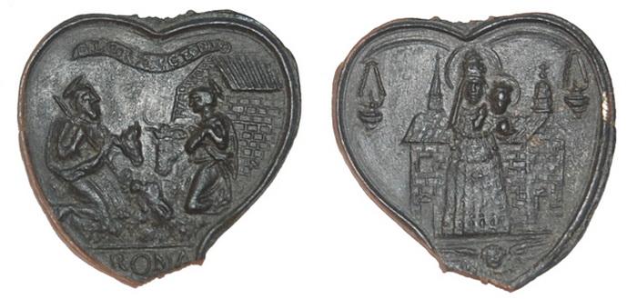 ICONOGRAFIA de la NATIVIDAD en las medallas devocionales Traian12