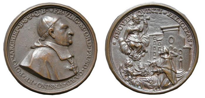 Recopilación medallas de Santo Domingo de Guzmán. Notas iconográficas. V_m11