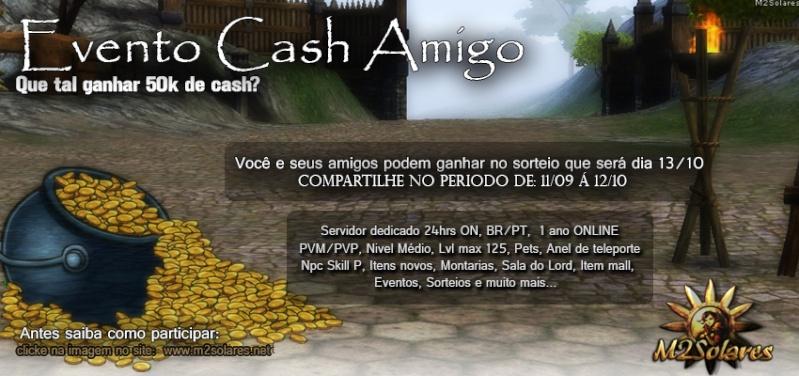 Evento Cash Amigo M2Solares Banner12