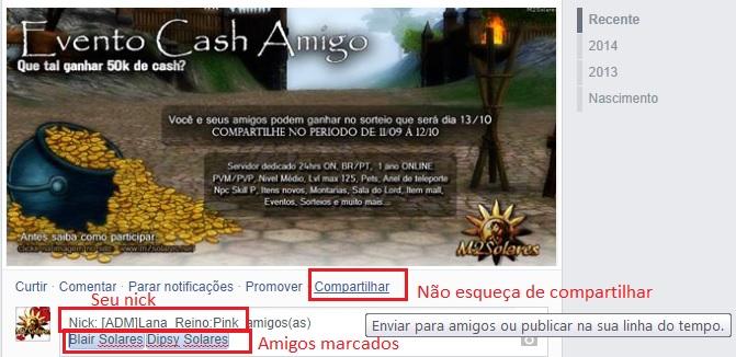 Evento Cash Amigo M2Solares Exempc10
