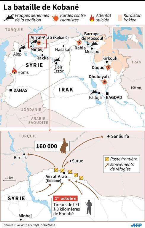 IRAK-SYRIE Carte-12