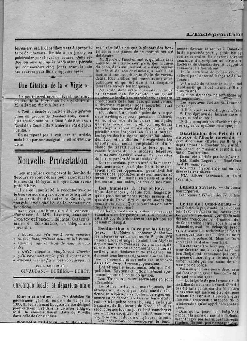 ALGERIE PRESSE 1890 Img17510