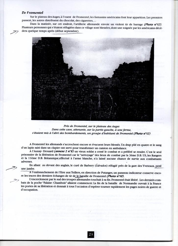 LA BATAILLE DE NORMANDIE AOUT 44 -FROMENTEL dernière partie Img20910