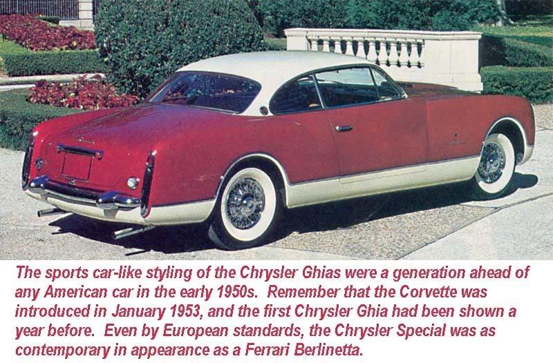 Chrysler GHIA  , un air de Karmann ... Chrysl10