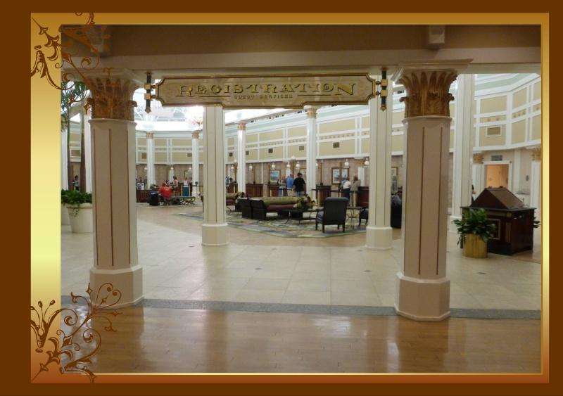 The trip of  a Lifetime : du 28 juillet au 11 aout, Port Orleans Riverside, Que d'émotions ! - Page 2 Lobby11