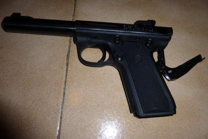 Ruger mk3 22/45 target P1000410