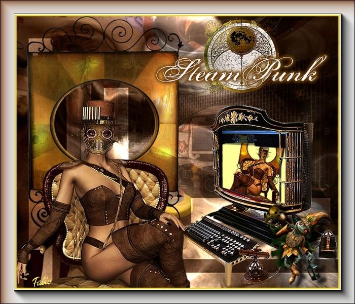 La lady steampunkinette 19811