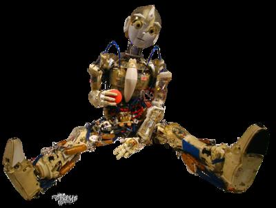 Le robot  jouant à la balle rouge  Krystu13