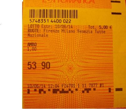 GIUSEPPE CHIARAMIDA | TERNO SECCO MILIONARIO 45-53-90 SU NZ VINTO COL NUOVO METODO ''TERNO MONDIALE'' Dsc03310