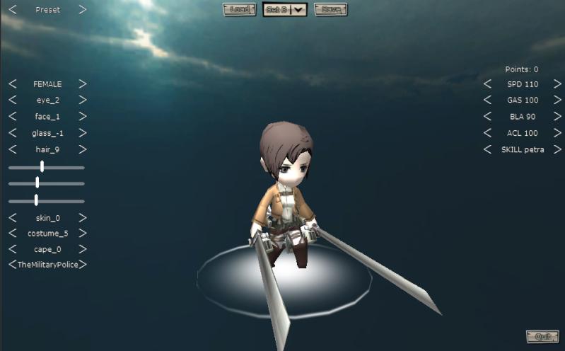 Attack On Titan Tribute Game Snk210
