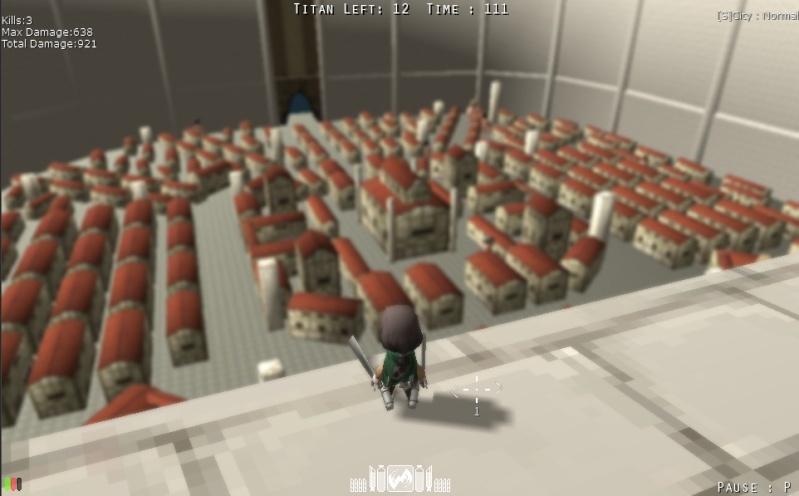 Attack On Titan Tribute Game Snk410