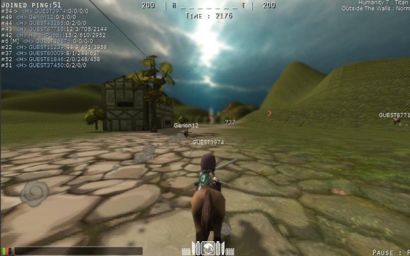 Attack On Titan Tribute Game Snk510