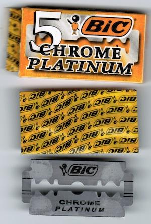 Bic Chrome Platinum Bic-ch10