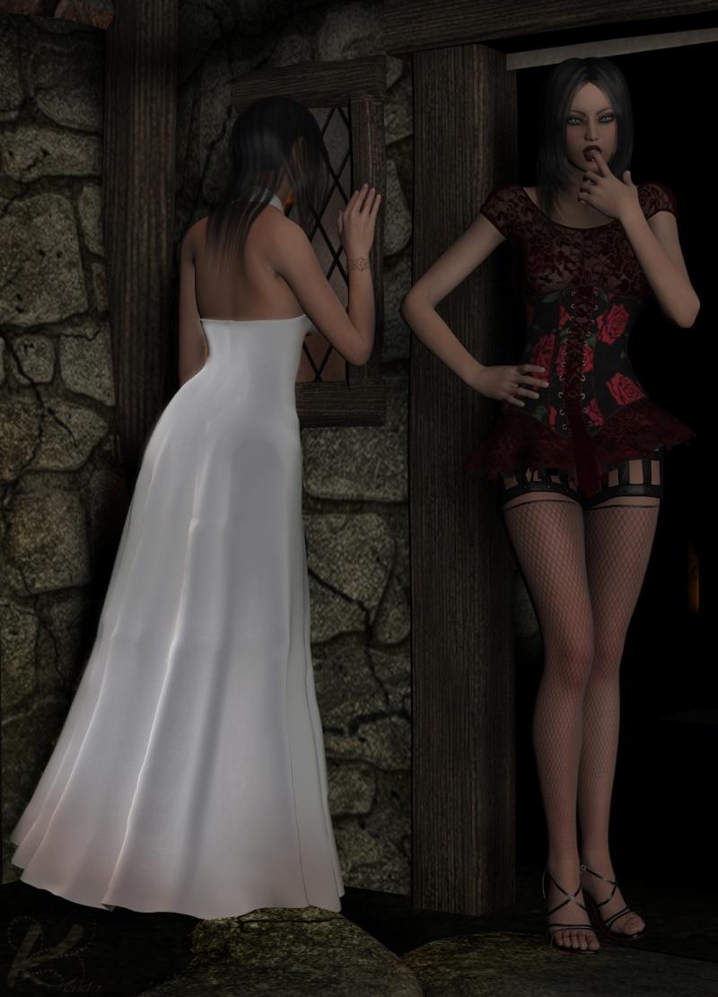 sigterms Battle: Kleid aus Rosen Kleid-10