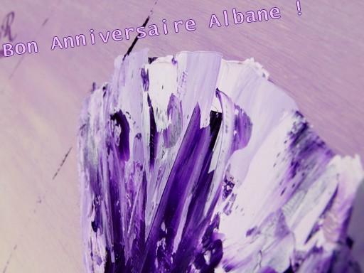 Bon anniversaire Albane ! Albane10
