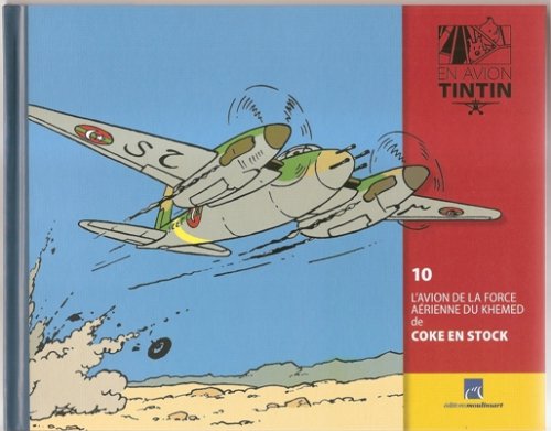 Collection d'avion Tintin - Hachette Collection N1011