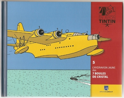 Collection d'avion Tintin - Hachette Collection Parabd10