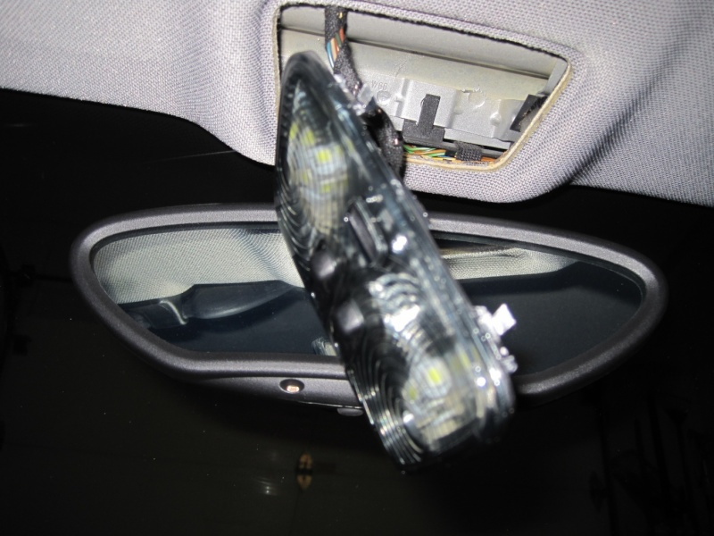 Changement des ampoules intérieures en leds (Help) Cayman S 2008 Img_1711