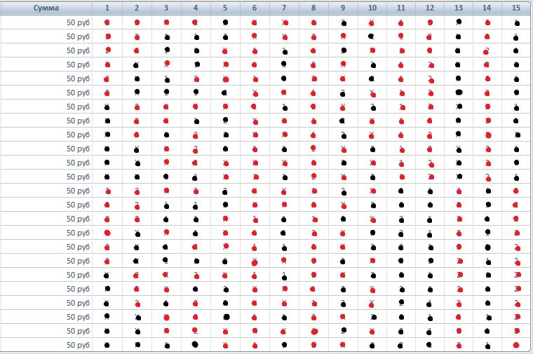 Тестирование стратегии игры в фонбет тото Izaza_11