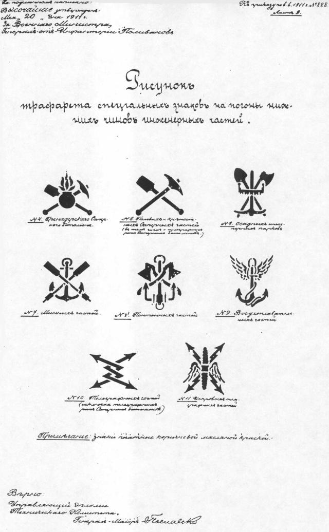 Les pattes d'épaules de l'armée Russe Pochoi15