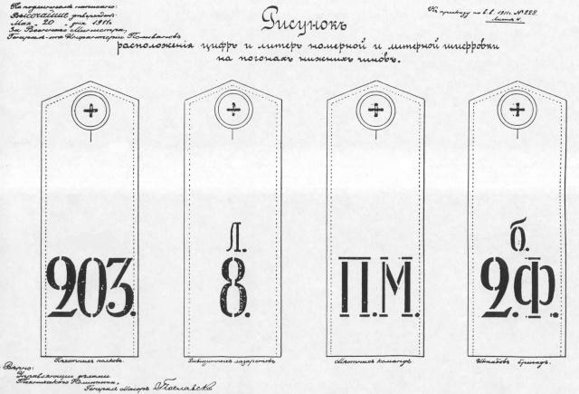 Les pattes d'épaules de l'armée Russe Pochoi19