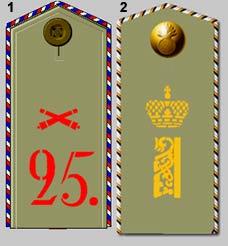 Les pattes d'épaules de l'armée Russe Rusarm13