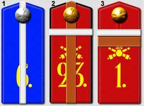 Les pattes d'épaules de l'armée Russe Scout10