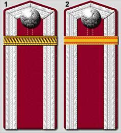 Les pattes d'épaules de l'armée Russe Servic10