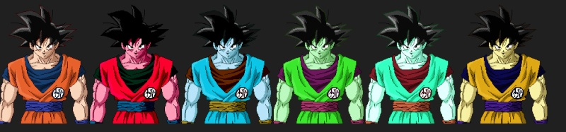 New CSS (Character Screen Selection) for SSBC Goku11