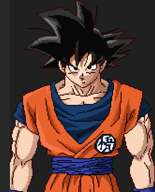New CSS (Character Screen Selection) for SSBC Gokuzo10