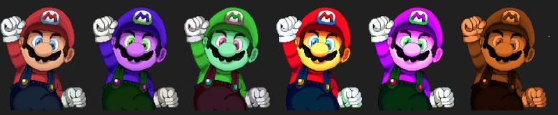 New CSS (Character Screen Selection) for SSBC Mario10