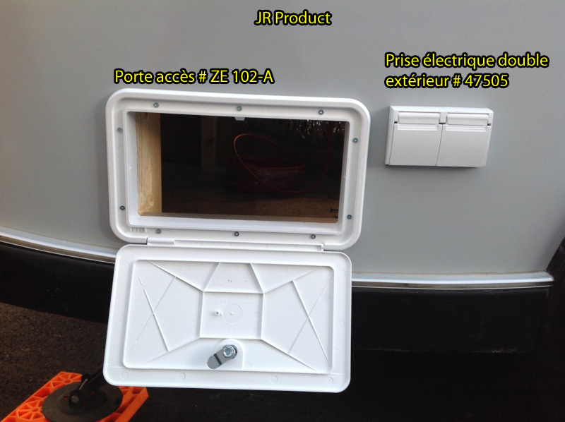 Accès au coffre arrière Photo110