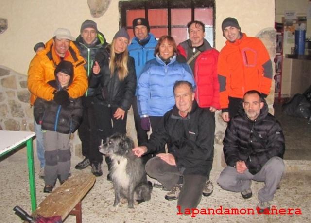 20131224 - REUNIÓN NAVIDEÑA EN LA PEDRIZA 00131