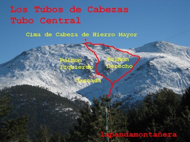20131205 - GUADARRAMA - LOS TUBOS DE CABEZAS - CABEZA DE HIERRO MAYOR 09612