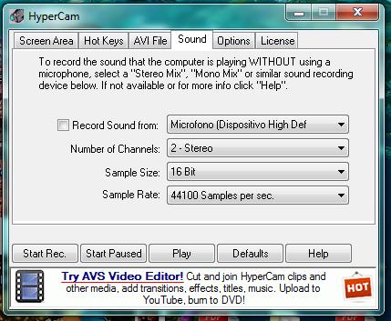 Hypercam - Aiuto! Hy410