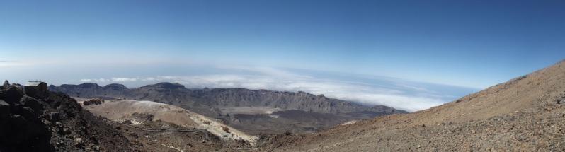 Canary Islands, Tenerife, Mount Teide Dscf2722