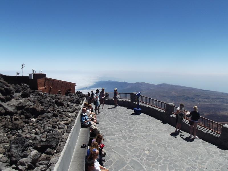 Canary Islands, Tenerife, Mount Teide Dscf2836