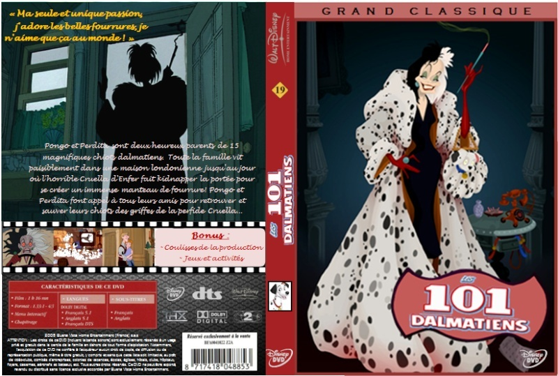 [Rééditions DVD] La Collection des Méchants Disney - Page 3 Jaquet22