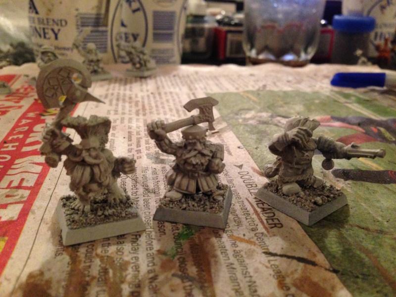 dwarf - Starting a dwarf warband Img_1014