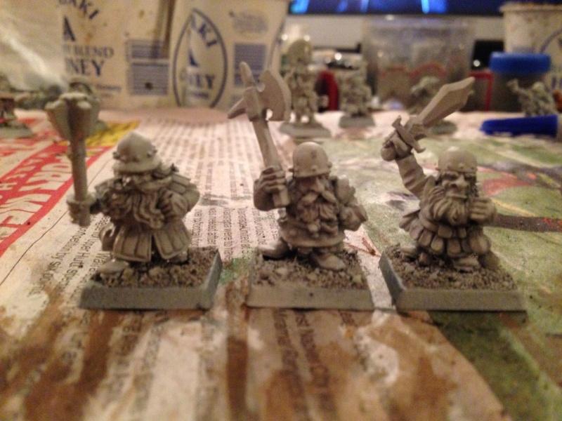 dwarf - Starting a dwarf warband Img_1015