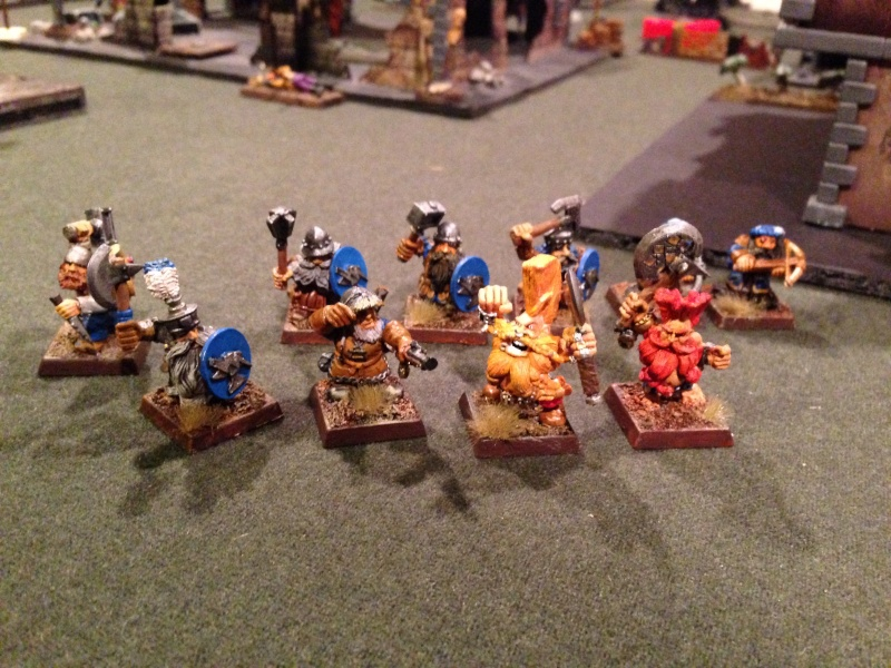 My completed dwarf warband Photo10