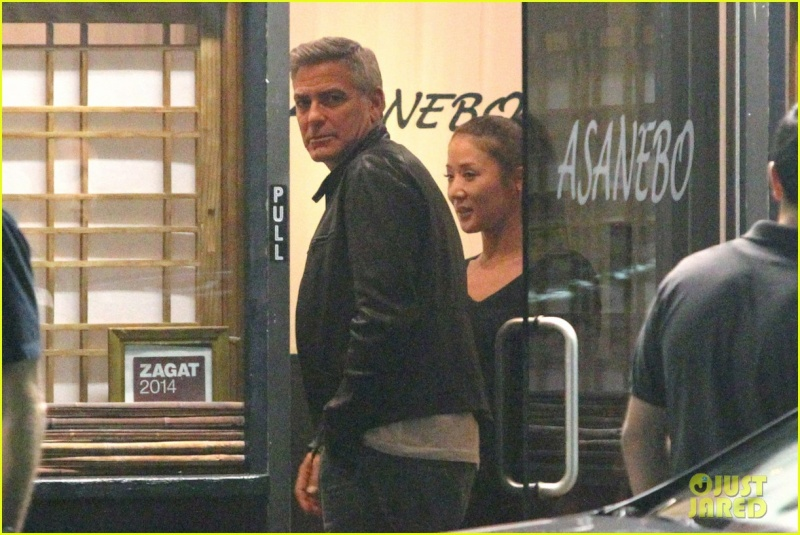 George Clooney Out To Dinner in LA Sunday Night  19 October 2014 Alt12