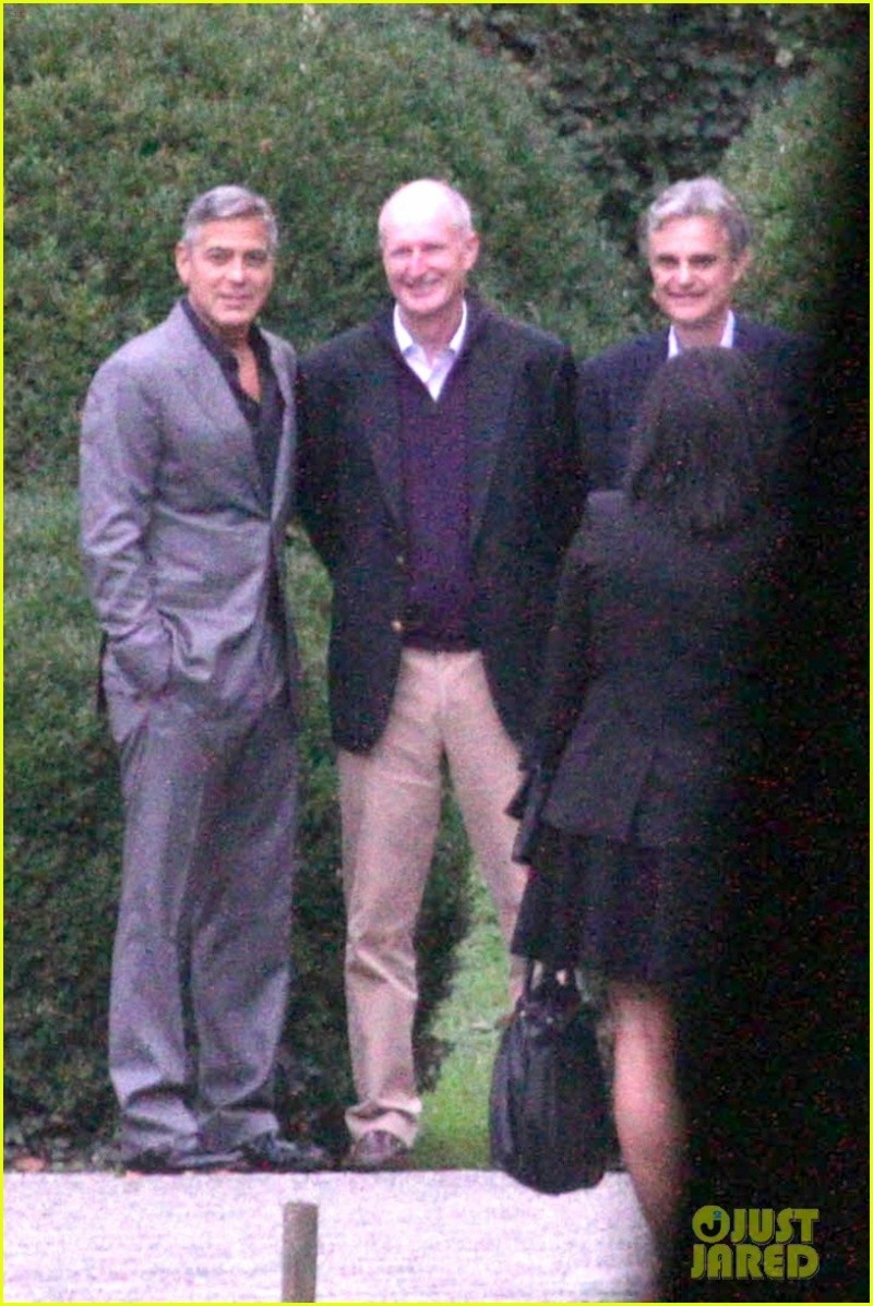 George Clooney and JEAN DUJARDIN doing a new NESPRESSO SPOT Bbb410