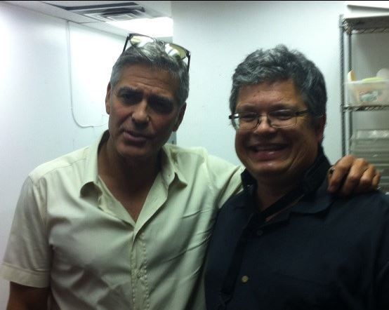 George Clooney attended the concert of David Hall in Kentucky Concer11