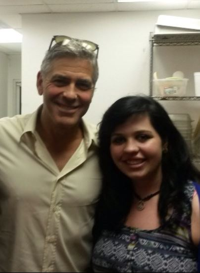 George Clooney attended the concert of David Hall in Kentucky Concer12